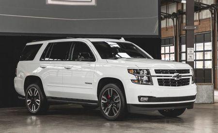 Rally Sport . . . Trucks? Chevrolet Unveils 6.2-Liter Tahoe and Sport-Look Suburban