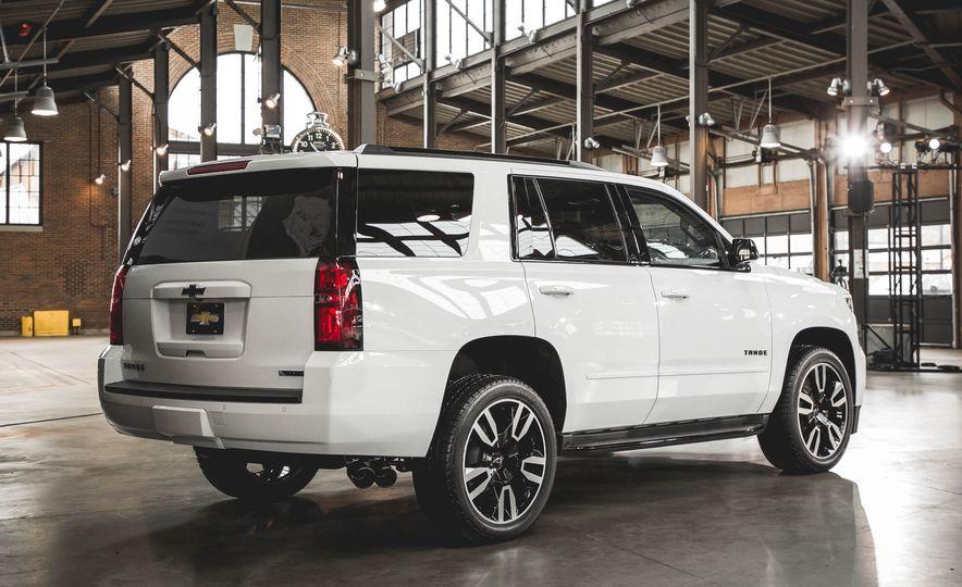 2018 Chevrolet Tahoe RST - Slide 5