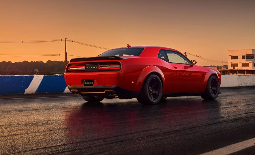 2018 Dodge Challenger SRT Demon - Slide 35