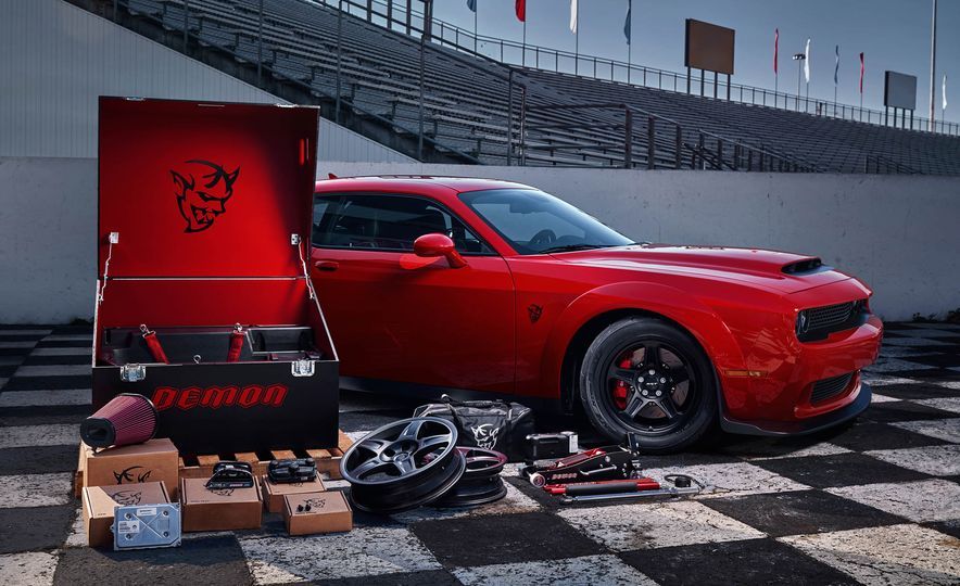 2018 Dodge Challenger SRT Demon - Slide 59