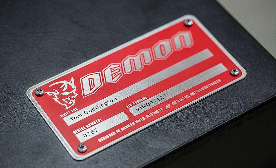 2018 Dodge Challenger SRT Demon - Slide 86