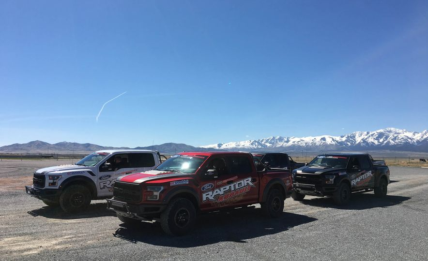 From Track to Mountain Peak at Ford's Focus RS and Raptor Driving Schools - Slide 1