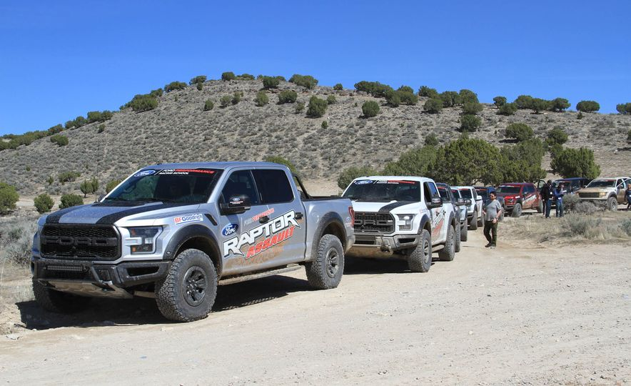 From Track to Mountain Peak at Ford's Focus RS and Raptor Driving Schools - Slide 2