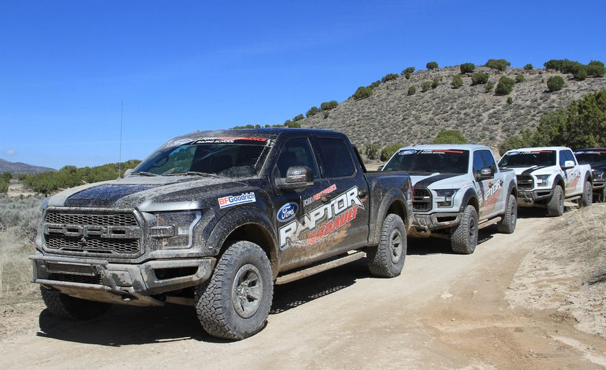 From Track to Mountain Peak at Ford's Focus RS and Raptor Driving Schools - Slide 3