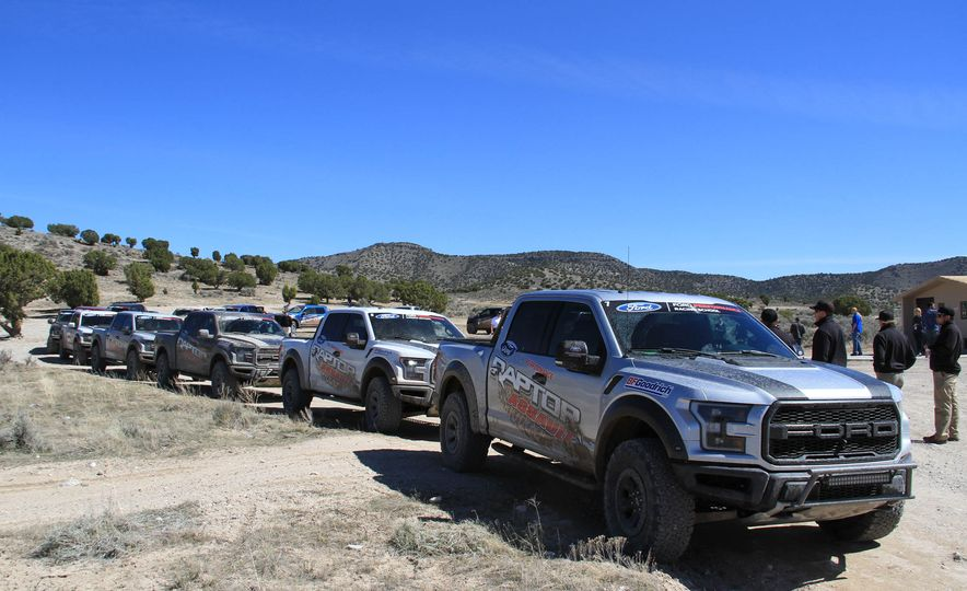 From Track to Mountain Peak at Ford's Focus RS and Raptor Driving Schools - Slide 5