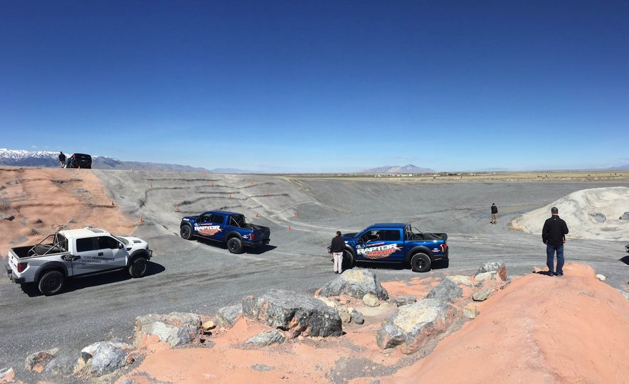 From Track to Mountain Peak at Ford's Focus RS and Raptor Driving Schools - Slide 7
