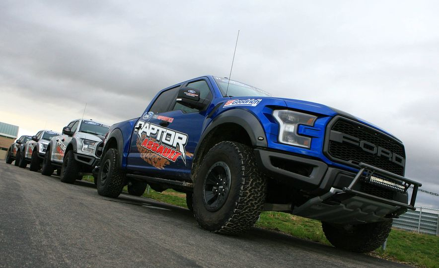 From Track to Mountain Peak at Ford's Focus RS and Raptor Driving Schools - Slide 12