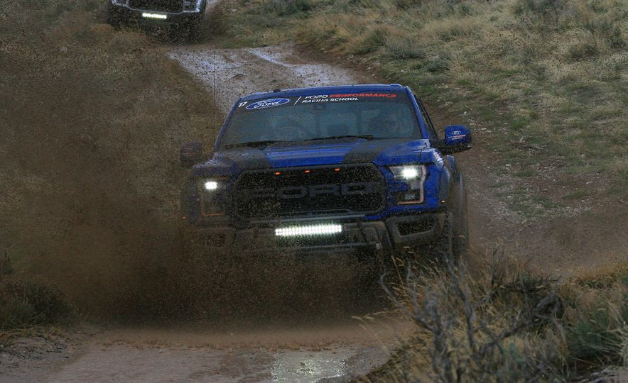 From Track to Mountain Peak at Ford's Focus RS and Raptor Driving Schools - Slide 13