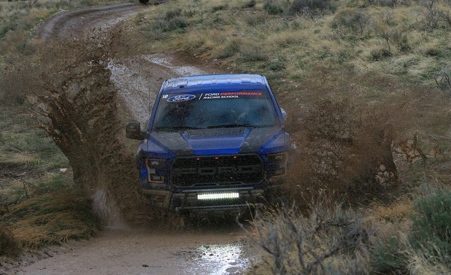 From Track to Mountain Peak at Ford's Focus RS and Raptor Driving Schools - Slide 14