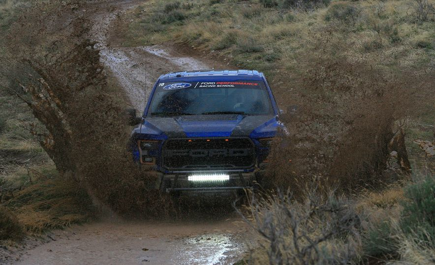 From Track to Mountain Peak at Ford's Focus RS and Raptor Driving Schools - Slide 15