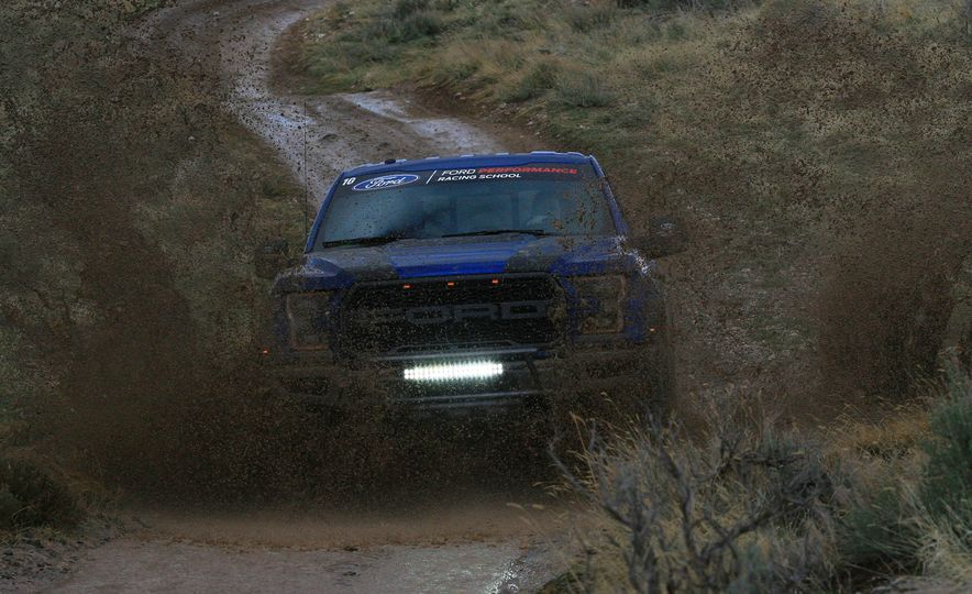 From Track to Mountain Peak at Ford's Focus RS and Raptor Driving Schools - Slide 16