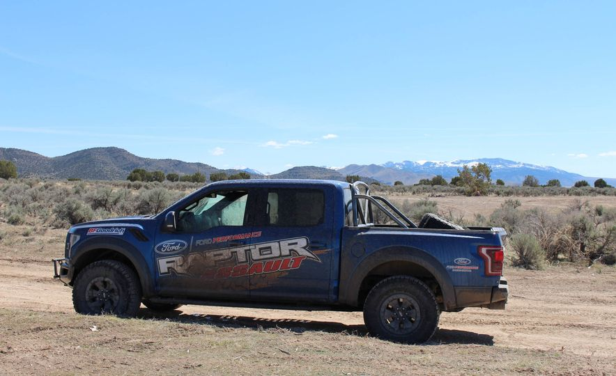 From Track to Mountain Peak at Ford's Focus RS and Raptor Driving Schools - Slide 19