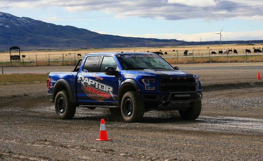 From Track to Mountain Peak at Ford's Focus RS and Raptor Driving Schools - Slide 20