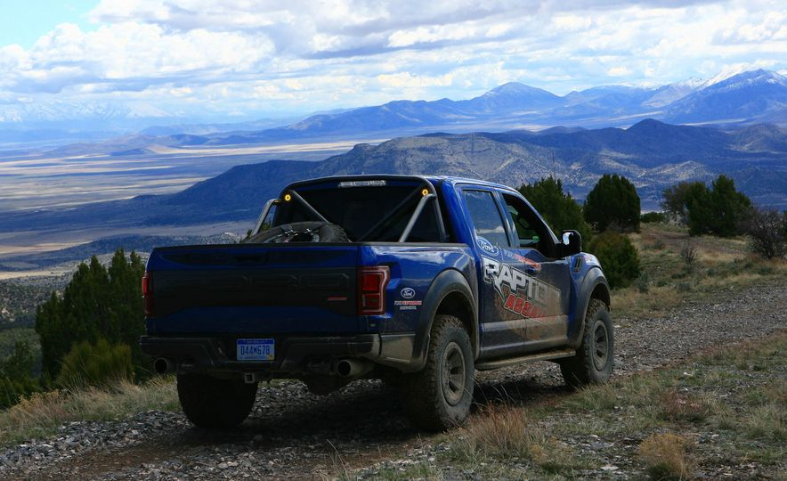 From Track to Mountain Peak at Ford's Focus RS and Raptor Driving Schools - Slide 21