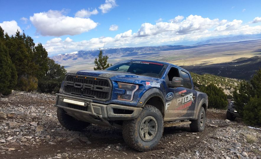 From Track to Mountain Peak at Ford's Focus RS and Raptor Driving Schools - Slide 22