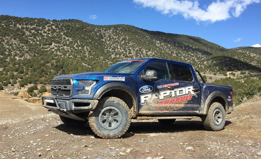 From Track to Mountain Peak at Ford's Focus RS and Raptor Driving Schools - Slide 24