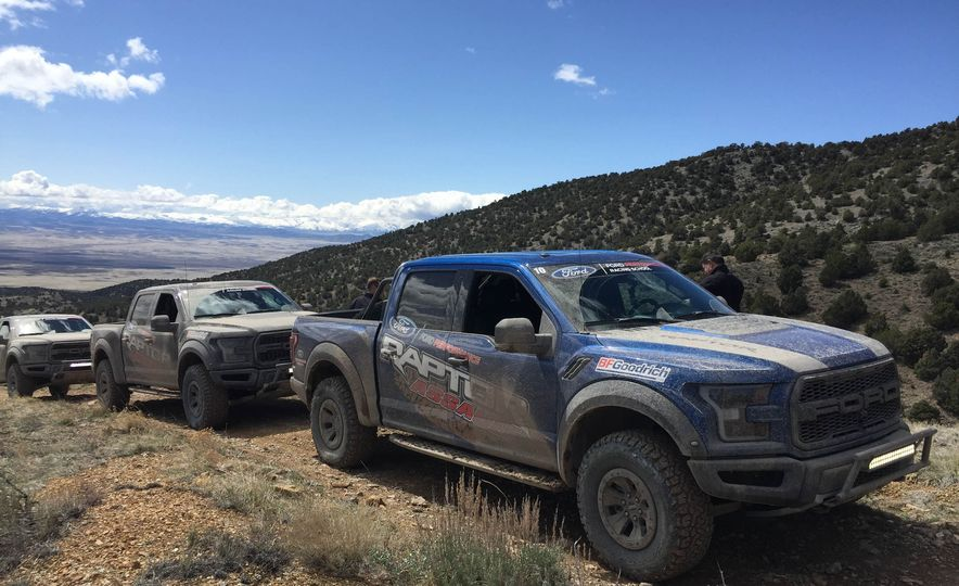 From Track to Mountain Peak at Ford's Focus RS and Raptor Driving Schools - Slide 28