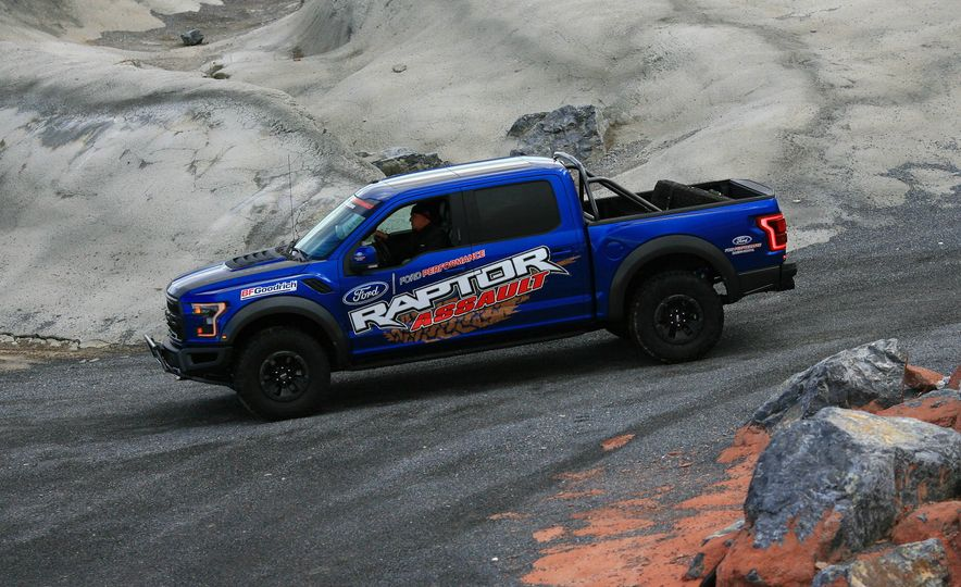 From Track to Mountain Peak at Ford's Focus RS and Raptor Driving Schools - Slide 29