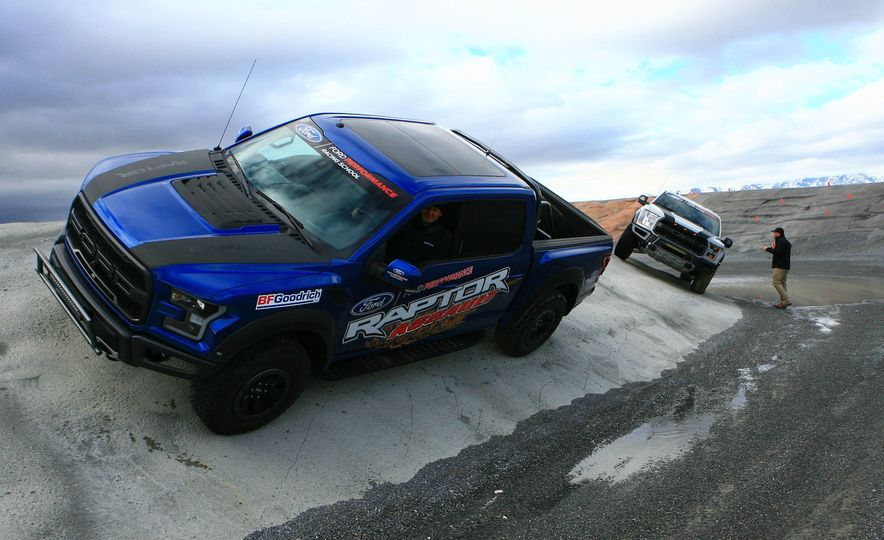 From Track to Mountain Peak at Ford's Focus RS and Raptor Driving Schools - Slide 31