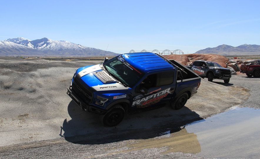 From Track to Mountain Peak at Ford's Focus RS and Raptor Driving Schools - Slide 32