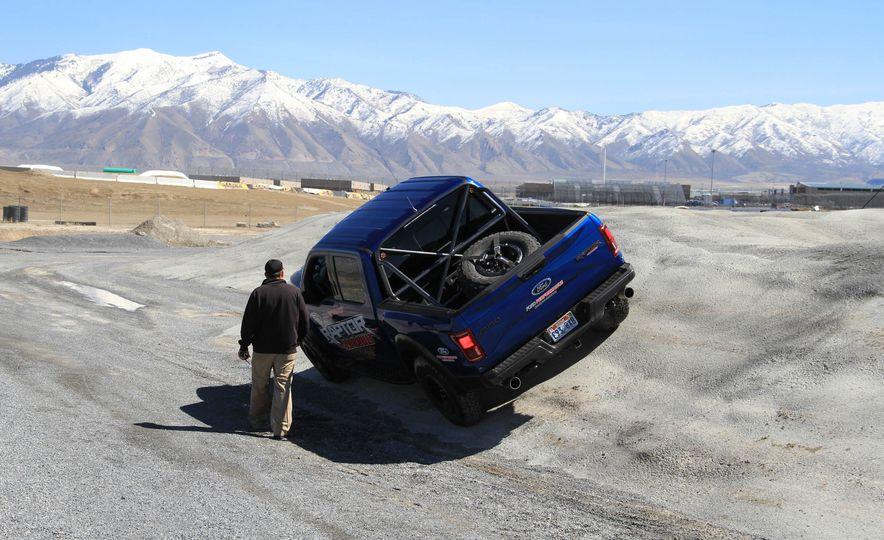From Track to Mountain Peak at Ford's Focus RS and Raptor Driving Schools - Slide 33
