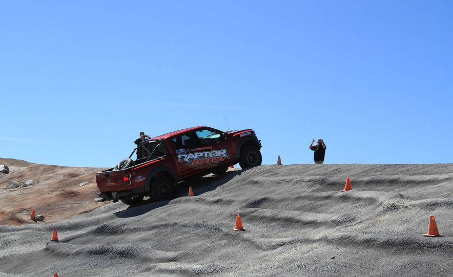 From Track to Mountain Peak at Ford's Focus RS and Raptor Driving Schools - Slide 41