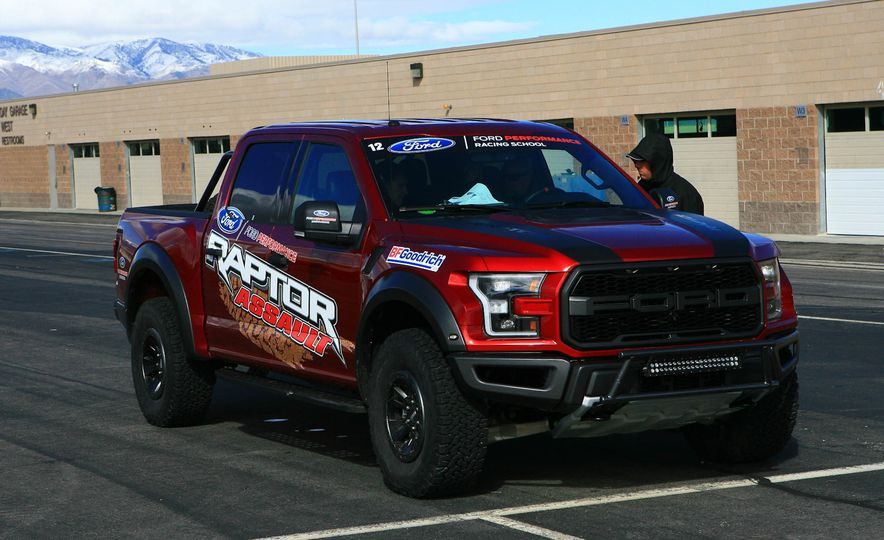 From Track to Mountain Peak at Ford's Focus RS and Raptor Driving Schools - Slide 42