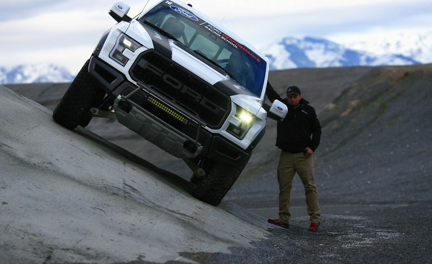 From Track to Mountain Peak at Ford's Focus RS and Raptor Driving Schools - Slide 46