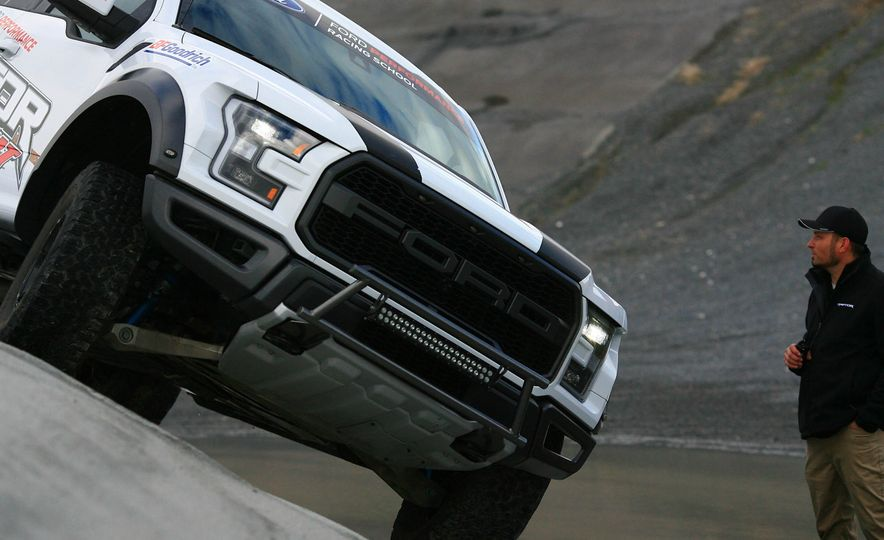 From Track to Mountain Peak at Ford's Focus RS and Raptor Driving Schools - Slide 47