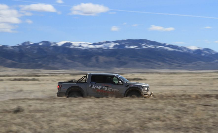 From Track to Mountain Peak at Ford's Focus RS and Raptor Driving Schools - Slide 49