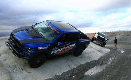 All Fours: From Track to Mountain Peak at Ford's Focus RS and Raptor Driving Schools