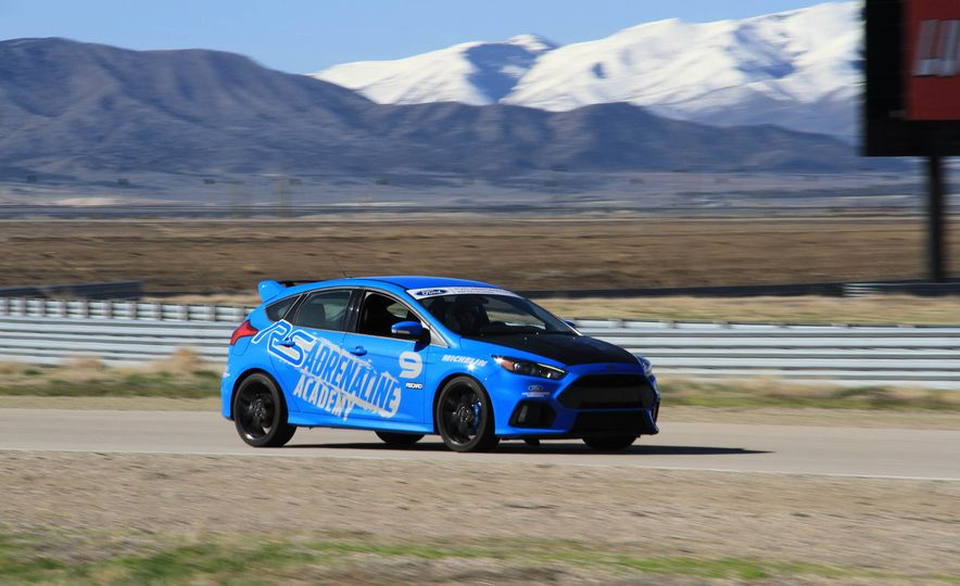 From Track to Mountain Peak at Ford's Focus RS and Raptor Driving Schools - Slide 50