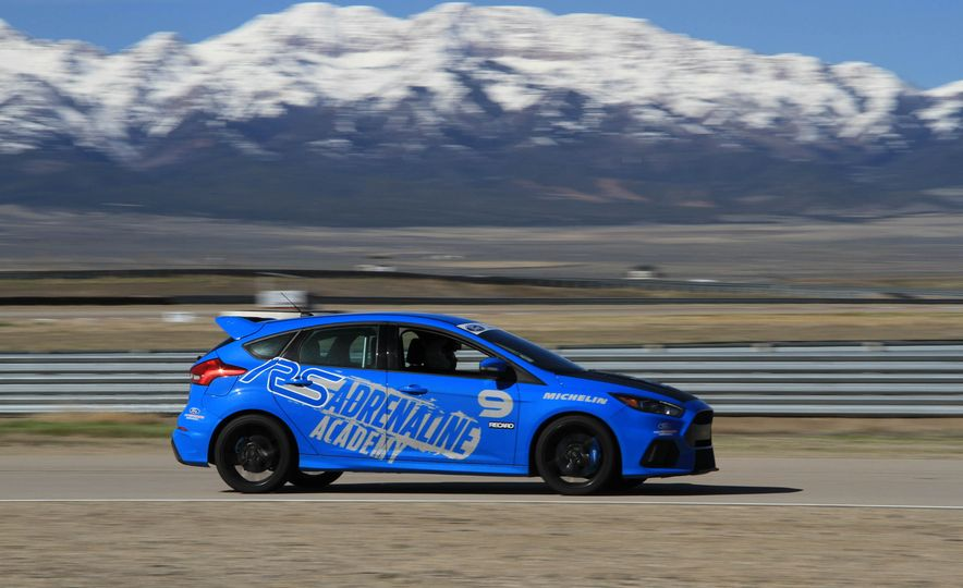 From Track to Mountain Peak at Ford's Focus RS and Raptor Driving Schools - Slide 51