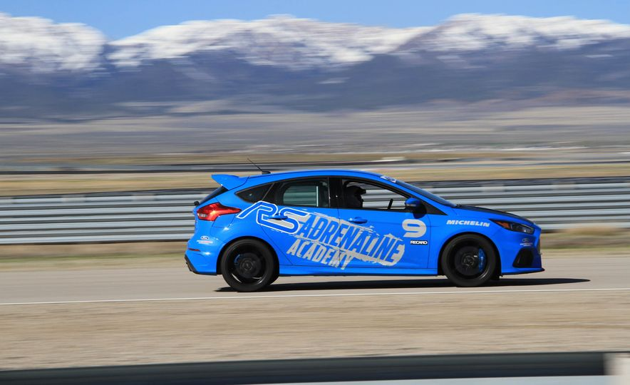 From Track to Mountain Peak at Ford's Focus RS and Raptor Driving Schools - Slide 52