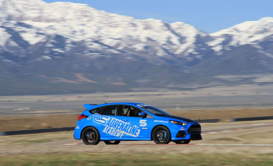 From Track to Mountain Peak at Ford's Focus RS and Raptor Driving Schools - Slide 53
