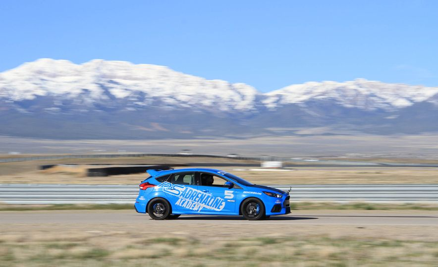 From Track to Mountain Peak at Ford's Focus RS and Raptor Driving Schools - Slide 54