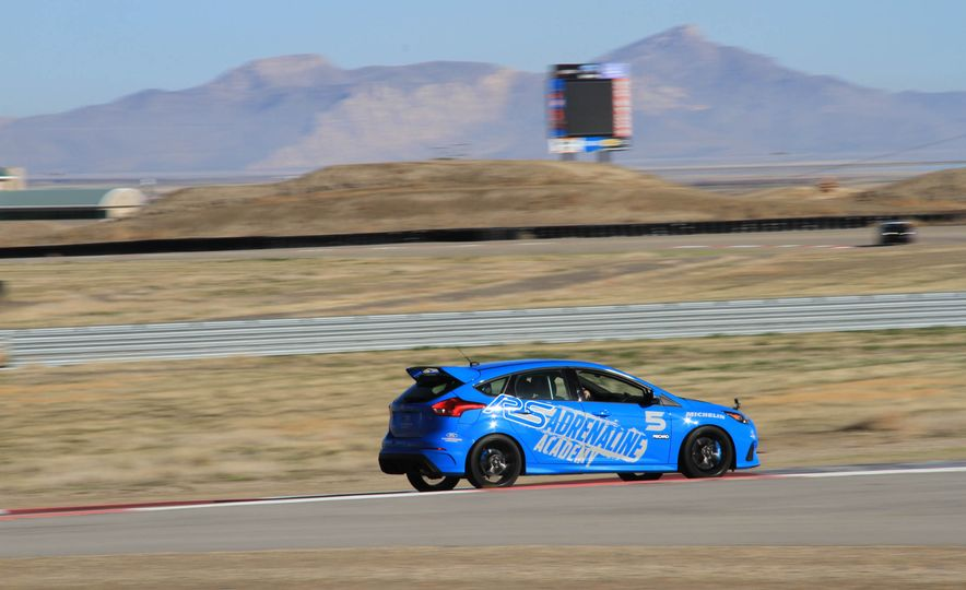 From Track to Mountain Peak at Ford's Focus RS and Raptor Driving Schools - Slide 55
