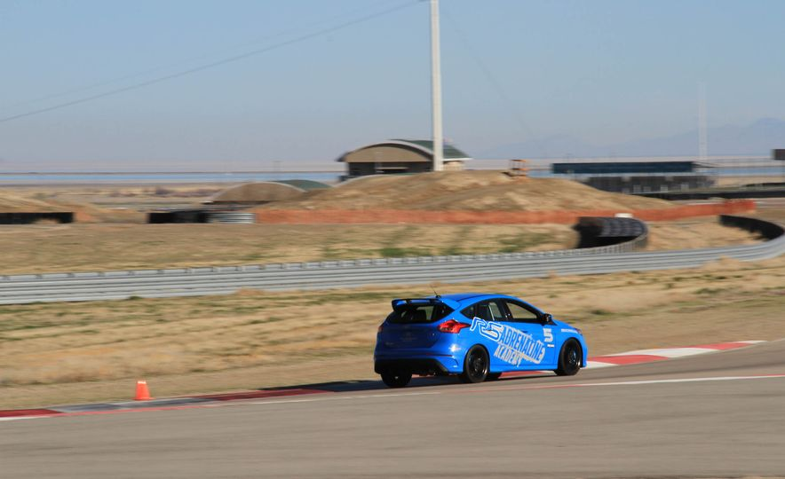 From Track to Mountain Peak at Ford's Focus RS and Raptor Driving Schools - Slide 56