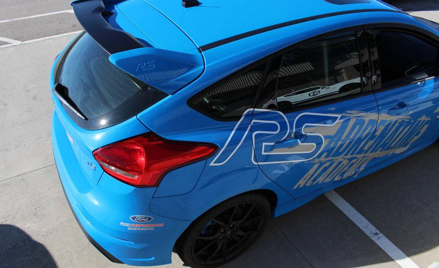 From Track to Mountain Peak at Ford's Focus RS and Raptor Driving Schools - Slide 58
