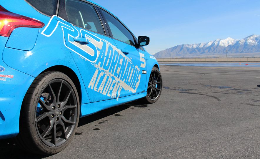 From Track to Mountain Peak at Ford's Focus RS and Raptor Driving Schools - Slide 61