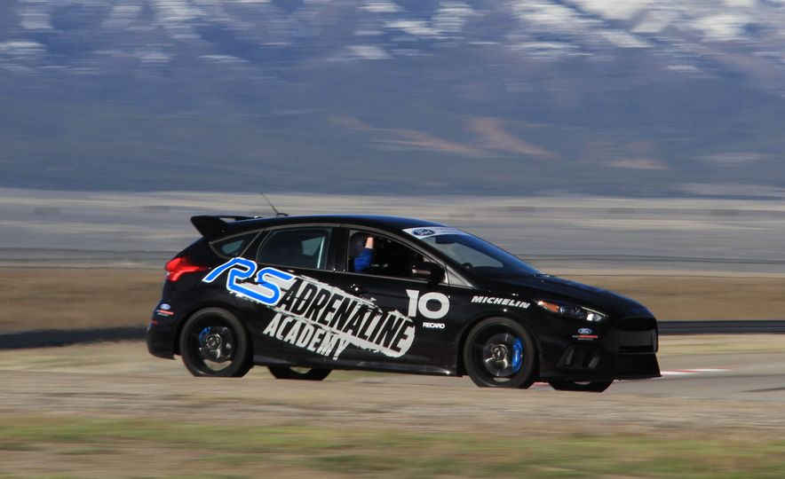 From Track to Mountain Peak at Ford's Focus RS and Raptor Driving Schools - Slide 64