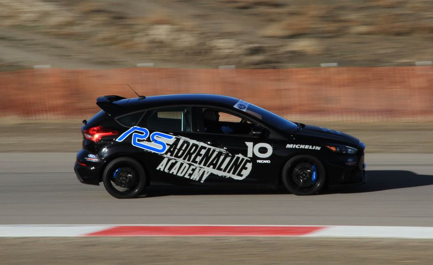 From Track to Mountain Peak at Ford's Focus RS and Raptor Driving Schools - Slide 65