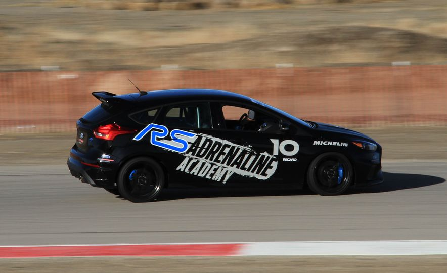 From Track to Mountain Peak at Ford's Focus RS and Raptor Driving Schools - Slide 66