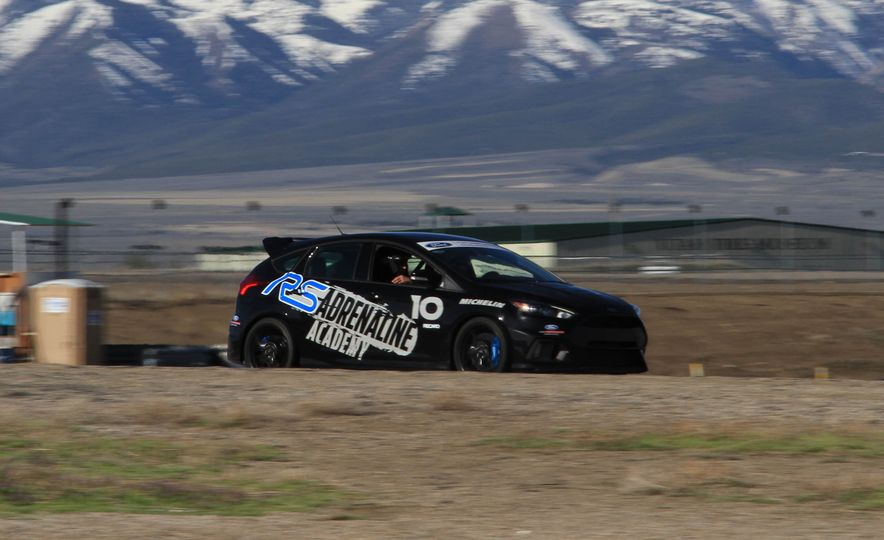 From Track to Mountain Peak at Ford's Focus RS and Raptor Driving Schools - Slide 67