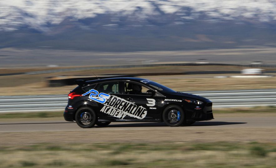 From Track to Mountain Peak at Ford's Focus RS and Raptor Driving Schools - Slide 68