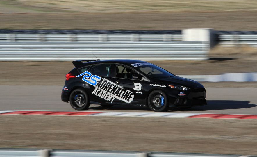 From Track to Mountain Peak at Ford's Focus RS and Raptor Driving Schools - Slide 69
