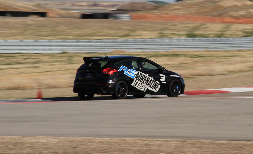 From Track to Mountain Peak at Ford's Focus RS and Raptor Driving Schools - Slide 70