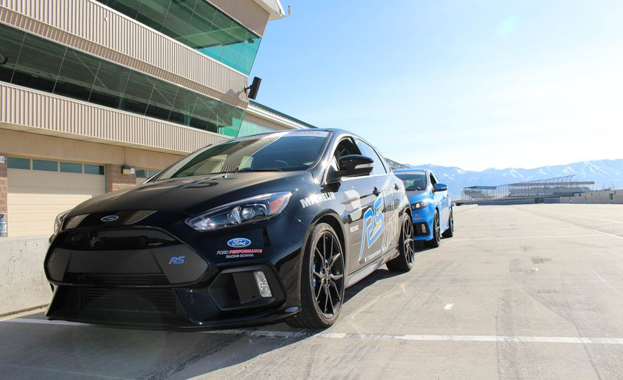 From Track to Mountain Peak at Ford's Focus RS and Raptor Driving Schools - Slide 72