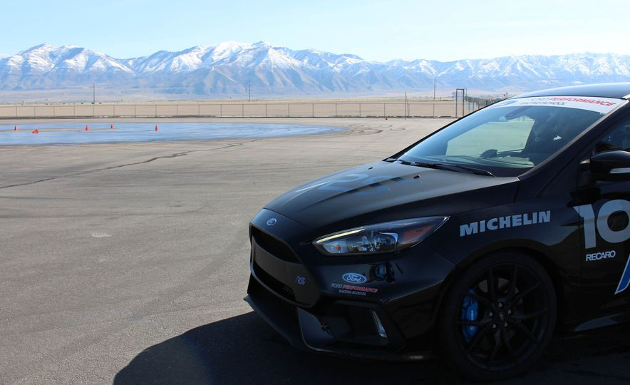 From Track to Mountain Peak at Ford's Focus RS and Raptor Driving Schools - Slide 74