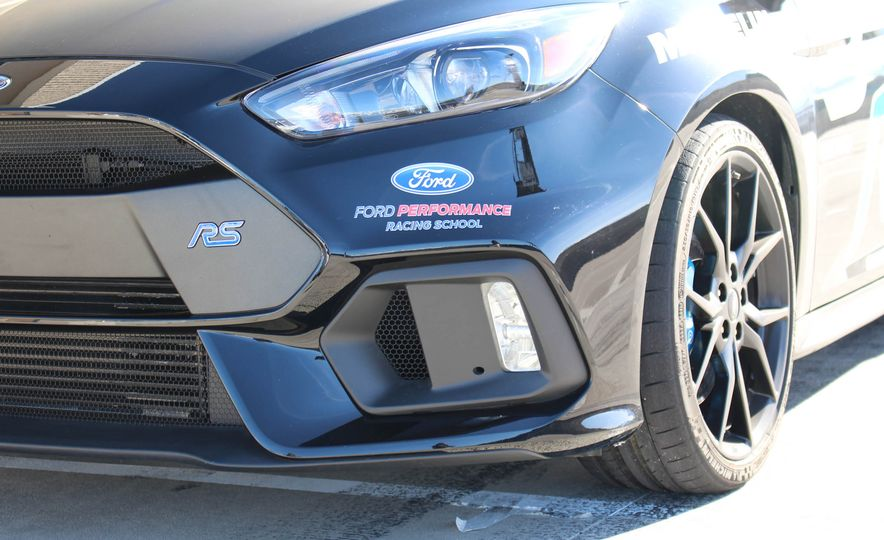 From Track to Mountain Peak at Ford's Focus RS and Raptor Driving Schools - Slide 75
